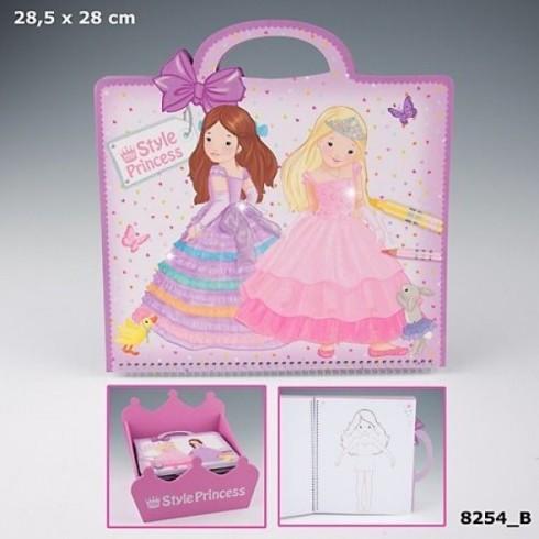 Style Princess Studio Colouring Book-600x600